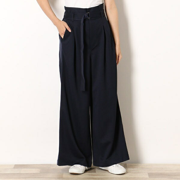 【18AW】WIDE TRACK PANTS/フレッドペリー(レディス)(FRED PERRY)