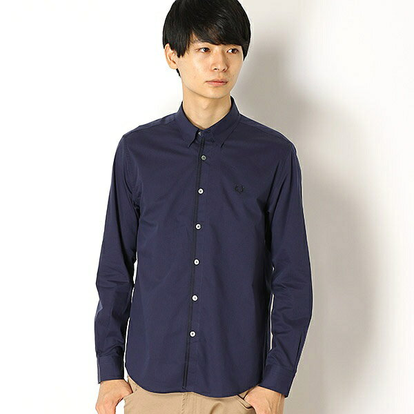 【18AW】FRONT TAPE SHIRT/フレッドペリー(メンズ)(FRED PERRY)