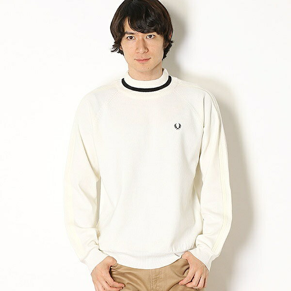 【18AW】MOCK NECK SWEATER/フレッドペリー(メンズ)(FRED PERRY)