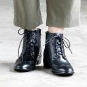 【レイン対応】レースアップ完全防水ブーツ/008002/オン ブルー(On Bleue)