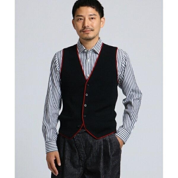 MTシャツ(【 PNJ 】パイピングニットベスト [ メンズ ベスト ])/タケオキクチ(TAKEO KIKUCHI)