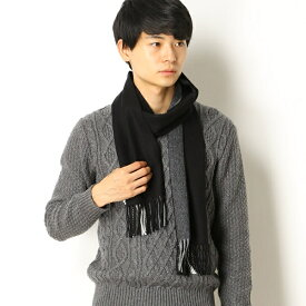 【18AW】TIPPED WOVEN SCARF/フレッドペリー(雑貨)(FRED PERRY)