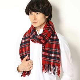 【18AW】TARTAN STOLE/フレッドペリー(雑貨)(FRED PERRY)