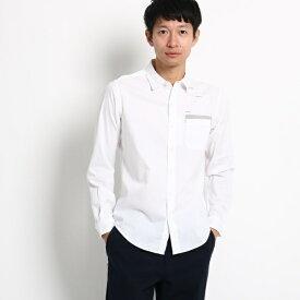 タイポロゴプリントシャツ/ザ ショップ ティーケー(メンズ)(THE SHOP TK Mens)