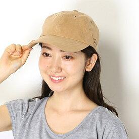 【サイズ調整・トレンド】SPIRALGIRLシンプルスエードキャップ(レディース/帽子/雑貨)/スパイラルガール(帽子)(SPIRALGIRL)