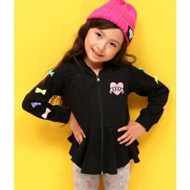 袖リボン付フレアパーカー/アナップキッズ&ガール(ANAP KIDS&GIRL)