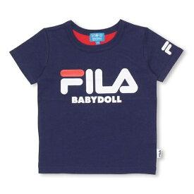 ドラえもん FILA バックキャラTシャツ 1205K Tシャツ/ベビードール(BABYDOLL)