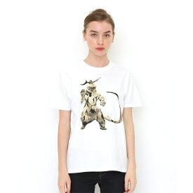 【ユニセックス】コラボレーションTシャツ/エレキング(ウルトラマン)/グラニフ(graniph)