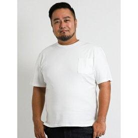 【大きいサイズ】Real Masters(リアル マスターズ)ストレッチクルーネック半袖Tシャツ/グランバック(GRAND-BACK)[大きいサイズの店]