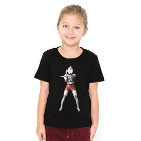 【キッズ】コラボレーションキッズTシャツ/ウルトラマンスペシウム光線(ウルトラマン)/グラニフ(graniph)