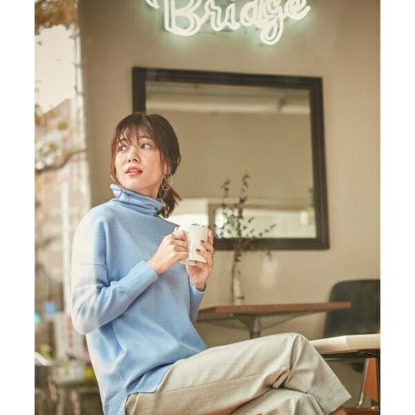 【カシミヤ混】Linda ハイネックニット/アイシービー L(ICB L)
