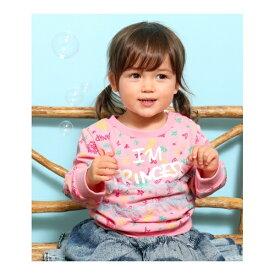 PRINCESS柄チュール付トップス/アナップキッズ&ガール(ANAP KIDS&GIRL)