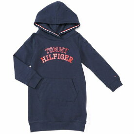 cd79894013570 ロゴ パーカー ワンピース/トミーヒルフィガー(キッズ)(TOMMY)