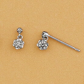 プラチナ ダイヤモンド スイングピアス/VA ヴァンドーム青山(VAvendomeaoyama)「不良品のみ返品を承ります」