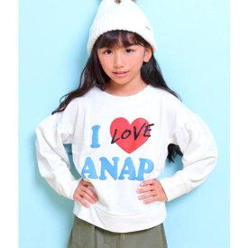 I LOVE ANAPトレーナー/アナップキッズ&ガール(ANAP KIDS&GIRL)