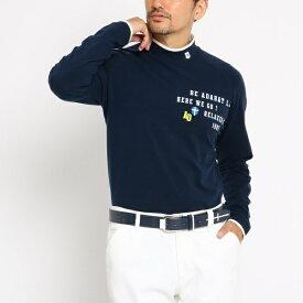 MTシャツ(【吸湿発熱】 ハイネック メンズ)/アダバット(メンズ)(adabat(Mens))
