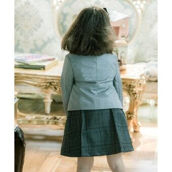 コンパクトジャケット&チェック柄プリーツスカート2点セット/キャサリンコテージ(CatherineCottage)
