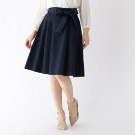 【WEB限定サイズ(SS・LL)あり】リボンベルト付きフレアスカート/クチュールブローチ(Couture Brooch)