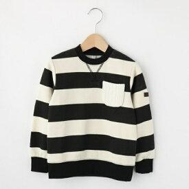 Tシャツ(裏シャギー ボーダープルオーバー)/シューラルー(キッズ)(SHOOLARUE Kids)
