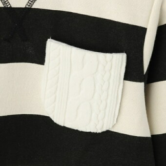 Tシャツ(裏シャギーボーダープルオーバー)/シューラルー(キッズ)(SHOOLARUEKids)