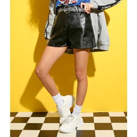 PVCベルト付きショートパンツ/アナップキッズ&ガール(ANAP KIDS&GIRL)