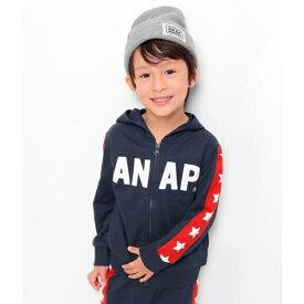 袖切り替えパーカー/アナップキッズ&ガール(ANAP KIDS&GIRL)