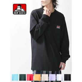 BEN DAVIS|ポケットロングTシャツ/ウィゴー(メンズ)(WEGO)