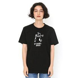 【ユニセックス】ベーシックTシャツ/ジドリネコ/グラニフ(graniph)