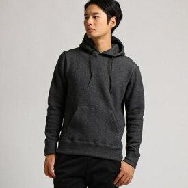 MTシャツ(【WEB限定】ウール裏毛 プルパーカー11210)/ベース ステーション(メンズ)(BASE STATION Mens)