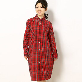 【19SS】TARTAN SHIRT DRESS/フレッドペリー(レディス)(FRED PERRY)
