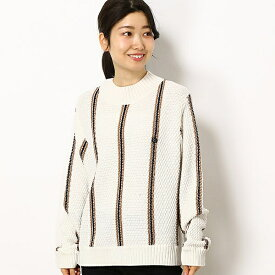 【19SS】TEXTURED KNIT SWEATER/フレッドペリー(レディス)(FRED PERRY)