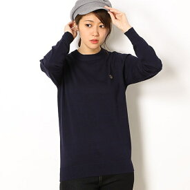 【19SS】TIPPED CREW NECK SWEATER/フレッドペリー(レディス)(FRED PERRY)