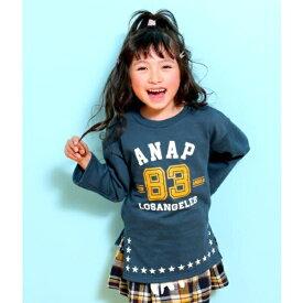 裾ホシプリントスリットチュニック/アナップキッズ&ガール(ANAP KIDS&GIRL)