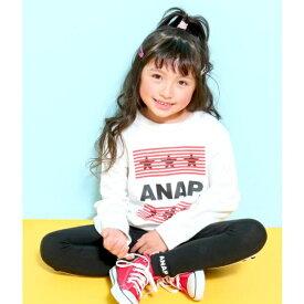ANAP星ロゴトレーナー/アナップキッズ&ガール(ANAP KIDS&GIRL)