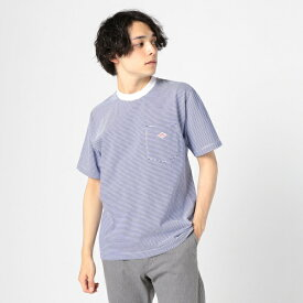 【DANTON/ダントン】ポケット付Tシャツ JD−9041/フレディ&グロスター メンズ(FREDY&GLOSTER)