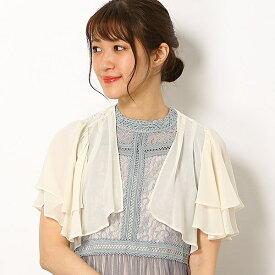 バック刺繍模様シフォンボレロ/ドリードール(Dorry Doll)