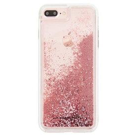 iPhone8 Plus対応ケース Waterfall Rose Gold/ケースメイト(Case-Mate)