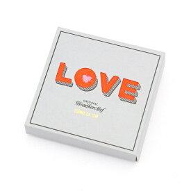 LOVE BOX ハート刺繍入り タオル ハンカチ/コムサイズムメンズ(COMME CA ISM)
