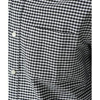 【19SS】レギュラーカラーパターンシャツ/ナノ・ユニバース(メンズ)(nanouniverse)