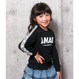 サイドロゴテープトレーナー/アナップキッズ&ガール(ANAP KIDS&GIRL)
