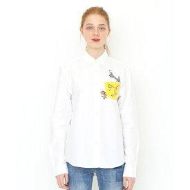 【ユニセックス】コラボレーションシャツ/ビッグチーズ(トムとジェリー)/グラニフ(graniph)