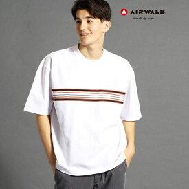【WEB別注】AIRWALKコラボラインTシャツ/ヴィタル ムッシュニコル(VITAL MONSIEUR NICOLE)