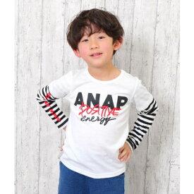 重ね着風ロンT/アナップキッズ&ガール(ANAP KIDS&GIRL)
