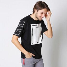 hummel別注Tシャツ/メンズメルローズ(MEN'S MELROSE)