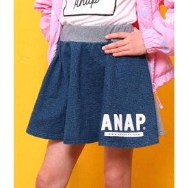 カットデニム×ミニ裏毛スカート/アナップキッズ&ガール(ANAP KIDS&GIRL)