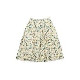 【レディース】コラボレーションスカート/ユーカリ(ハーベストテキスタイルデザイン)/グラニフ(graniph)