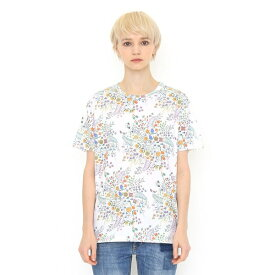 【ユニセックス】コラボレーションTシャツ/リース(ハーベストテキスタイルデザイン)/グラニフ(graniph)