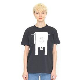 【ユニセックス】ベーシックTシャツ/ショップバッグゴースト/グラニフ(graniph)