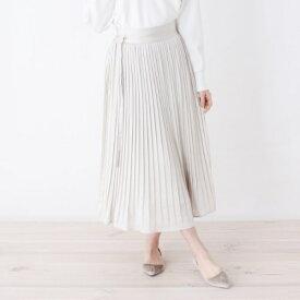 Lスカート(【洗える】ドットランダムプリーツスカート)/オペークドットクリップ(OPAQUE.CLIP)