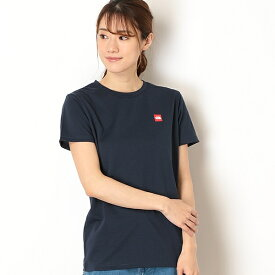 【THE NORTH FACE】Tシャツ(レディース ショートスリーブスモールボックスロゴティー)/ザ・ノース・フェイス(THE NORTH FACE)